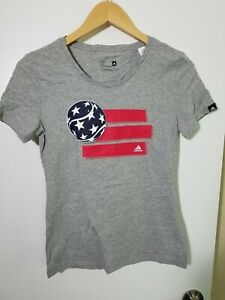 1 NWT ADIDAS WOMEN'S T-SHIRT, SIZE: X-SMALL, COLOR: GRAY HEATHER (J91)*