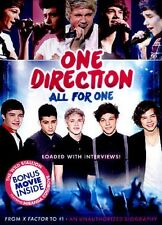 DVD - Musical - One Direction:  All For One - Harry Styles - Zayn Malik - Niall