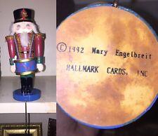 Mary Engelbreit Nutcracker Stocking Hanger Holder Hallmark 1992