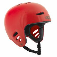 TSG Dawn - Solid Color Durable Multi Sport L/XL 57-59 CM Standard Helmet - RED