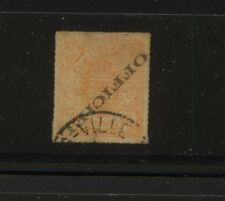 Luxembourg   O9b  error    used   official  stamp             MS1231
