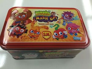 *Topps Moshi Monsters Trading Card Game Tin(inc 20 Mesh Up Cards) x 3 tins