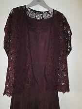 Elena Miro Italy  Designer Sommer Kostüm Kleid Spitze Cotton Seide  40 42 NEU