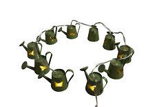 Gisela Graham LED Light Garland - Watering Cans
