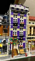 LEGO CUSTOM MODULAR BUILDING TOWN HOUSE fits with 10218 10246 10251 MOC 590