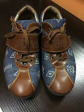 JUST CAVALLI MEN SHOES SIZE 10 MADE IN ITALY