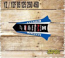 Yamaha YZ 85 125 YZF 250 450 Trasero Guardabarros gráficos-Calcomanías-Pegatinas-MX
