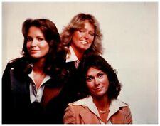 Charlie's Angels Jaclyn Smith Farrah Fawcett Kate Jackson Vintage 8x10 Photo
