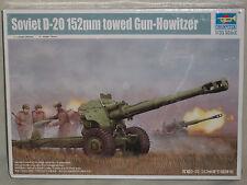 Trumpeter 1/35 Soviet D-20 152mm Towed Gun-Howitzer  - Factory Sealed