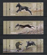 Kyrgyzstan Kirgisistan KEP Express 2016 MNH** Salbuurun Hunde Dogs Taigan Jagd