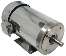 Gator Stainless Steel AC Motor Washdown Duty 10HP 3600RPM 215TC 1 Yr Warranty