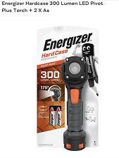 Energizer Tactical LED Work Light Hard Case Pro Light Flashlight 300 Lumens