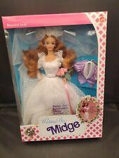 1990 Wedding Day Midge #9606 Barbie Mattel Never Opened NRFB