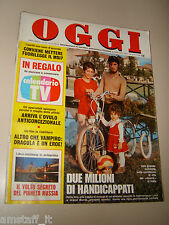 OGGI=1977/42=RIVARA CANAVESE=MAGO CRISTAL=PIERO CHIARA=ESINO LARIO=POLAROID=