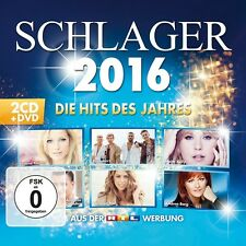 SCHLAGER 2016: DIE HITS DES JAHRES 3CD NEUF SANTIANO/ANDREA BERG/WOLFGANG PETRY/