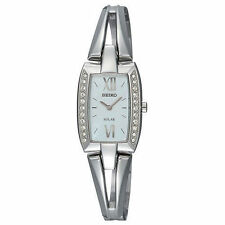 Seiko Women's Solar SUP083 Tressia Swarovski Crystal Watch