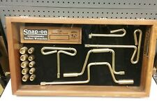 Snap On Tools Collectable 18K GOLD PLATED VERY RARE LIMITED VALUABLE Socket Set