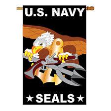 New listing U.S. Navy Seal - Applique Decorative House Flag - H108051-P2