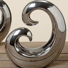 Sculpture Argent Version B Env. 21 cm Design Objet Figurine Décorative Abstrait