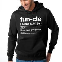 FUN-CLE FUNCLE Uncle Onkel Geschenkidee Sprüche Sweater Kapuzenpullover Hoodie