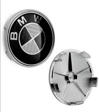 4 Stück 68MM BMW Nabendeckel Radnaben Nabenkappen Radkappe Felgendeckel