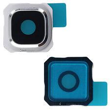 Samsung Galaxy S6 Edge Plus G928F objectif de caméra verre cadre bleu