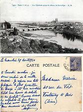 CARTE POSTALE - TOURS - VUE PRISE DU COTEAU DE SAINT-CYR