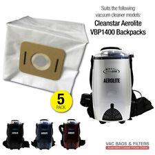 Cleanstar Aerolite VBP1400 Backpack Synthetic Vacuum Cleaner Bags (5-pack)