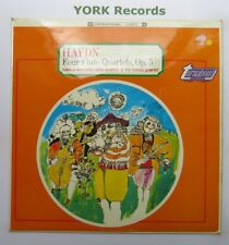 TV 34007S - HAYDN - Four Flute Quartets WANAUEK Europa Quartet - Ex LP Record