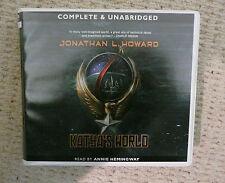 Very Rare 8 CD Audio Book of Katya's World by Jonathan L Howard  Annie Hemingway