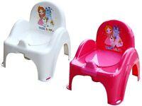 Töpfchen / Musiktöpfchen / Toilettentrainer Princess mit Musik + Betteinlage neu