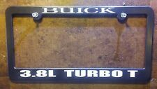 Buick license plate frame GN GNX Grand National TurboT TType Nhra pro street