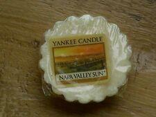 "YANKEE CANDLE RETIRED USA EXCLUSIVE  "" NAPA VALLEY SUN  ""  WAX TART MELT"