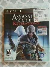 Assassin's Creed: Revelations (Sony PlayStation 3, 2011) Complete PS3 Game