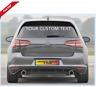 Custom Text Any Text ANY COLOUR CAR Windscreen, Shop window Sticker, Vinyl Decal