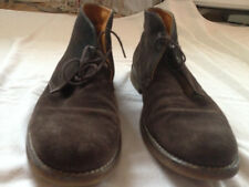524b957a1368 GEOX MEN S DESERT BOOTS SUEDE BROWN SIZE 43 EU 10.5 US