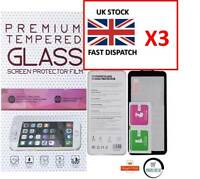 3 X NEW Tempered Glass Screen Protector Guard Film For Huawei P8 LITE 2017
