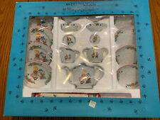 Mary Engelbreit Child Toy Bear Tea Set 17-Piece Complete Nib!
