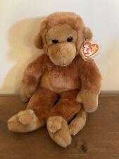 Ty Beanie Buddy Bongo Monkey New With Tag