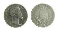 s489_1) Regno di Sardegna Vittorio Emanuele II (1849-1861) 1 Lira 1860 MI