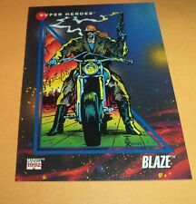 Blaze # 44 1992 Marvel Universe Series 3 Base Impel Trading  Card
