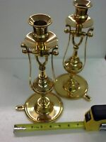Brass Ship Gimbal Lamp Candle Stick Candle Holder  Wall Free Standing
