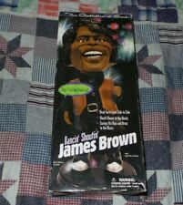 Dancing Shouting Singing James Brown Animated Toy by Gemmy w/ Box NICE!