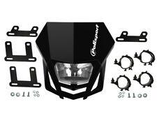 Scheinwerfer-Maske Polisport LMX schwarz für Aprilia Honda Suzuki KTM Husqvarna