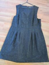 Piper Woman black Dress Size 20 In Excellent Condition