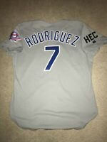 Rare Authentic 1993 Ivan Pudge Rodriguez Russell Texas Rangers Jersey Sz 46 (TI)