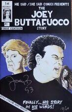 """Long Island Lolita Case"" Joey Buttafuoco Signed Comic Book Authenticated"