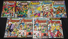 Marvel Bronze-Copper Age AVENGERS 71pc Count Mid Grade Comic Lot FN-VF Captain