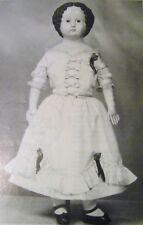 "24""/61Cm Lucinda Superior Doll Dress Pattern China Head Dolls Free Ship 4 Usa"
