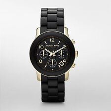 Michael Kors Runway MK5191 Black Catwalk Chronograph Women's Watch